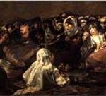 The Great He-Goat Or Witches Sabbath - Francisco Goya