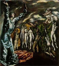 Opening of the fifth seal (The vision of Saint John the Divine) - El Greco