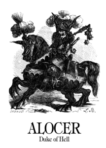Alocer (Dictionnaire Infernal)
