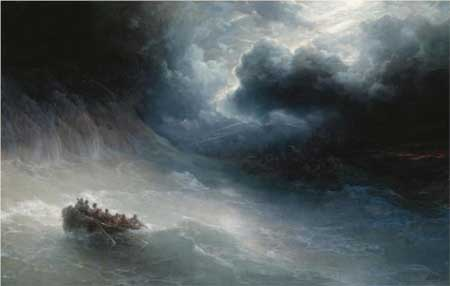 The Wrath Of The Seas - Ivan Aivazovsky