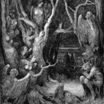 Harpies in the Forest of Suicides - Gustave Dore
