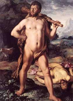 Hercules and Cacus - Hendrick Goltzius