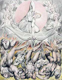 The Casting of the Rebel Angels into Hell - William Blake