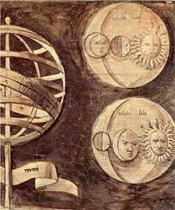 Globe, moon, sun (astronomy) - Giorgione