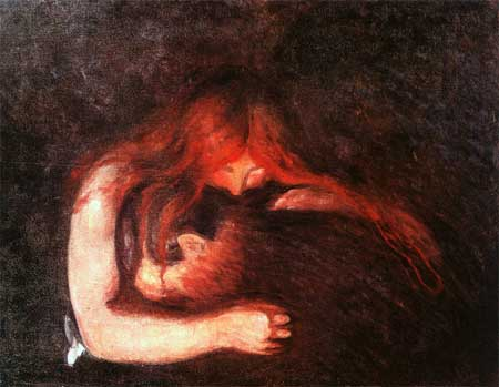 Love and Pain - Edvard Munch