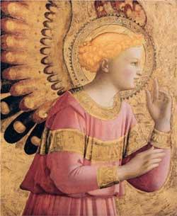 Archangel Gabriel Annunciate - Fra Angelico