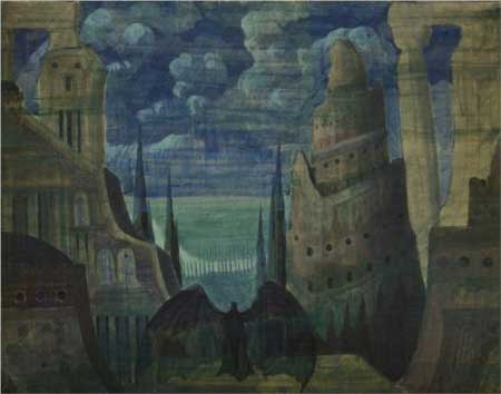 The Demon - Mikalojus Ciurlionis