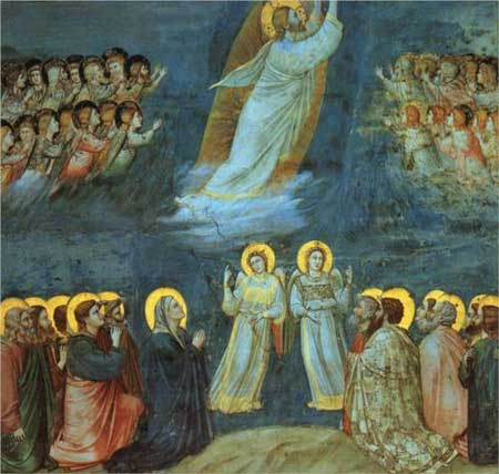The Ascension - Giotto