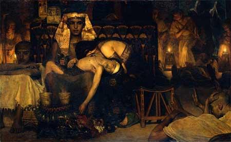Death of the Pharaoh's Firstborn Son - Lawrence Alma-Tadema