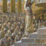 Solomon Dedicates the Temple at Jerusalem - James Tissot