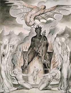 The Flight of Moloch - William Blake