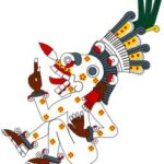 Mictlantecuhtli in the Codex Borgia