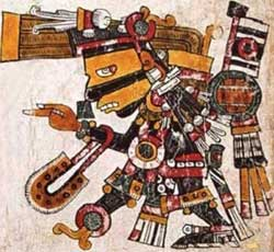 Tezcatlipoca - Codex Borgia