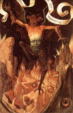 Hell - Hans Memling
