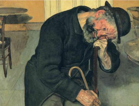 A Troubled Soul - Ferdinand Hodler