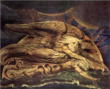 And Elohim created Adam - William Blake