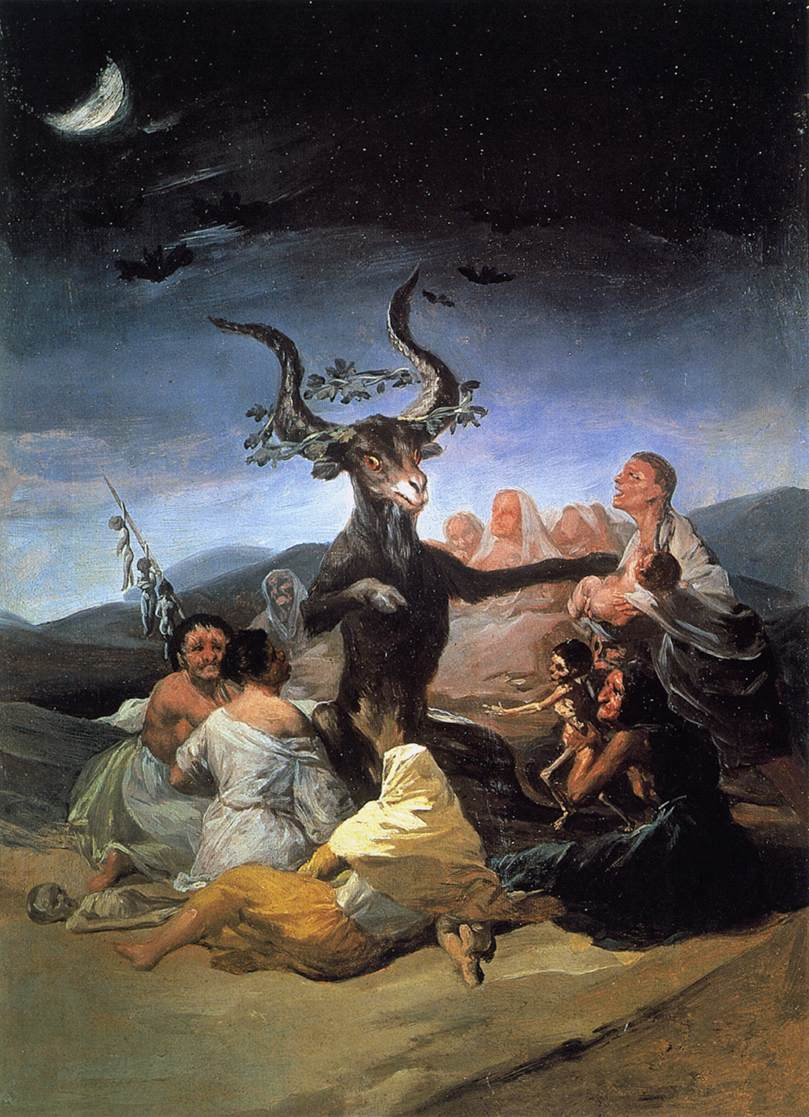 Witches Sabbath by Francisco Goya (1789)