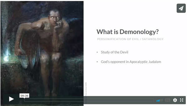 Free Demonology Lesson: What is Demonology?